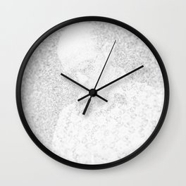 [De]generated ArcFace - Hunter S. Thompson Wall Clock