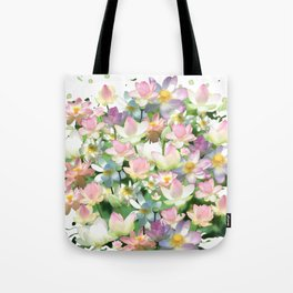 Lotus bloom Tote Bag