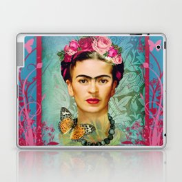 FRIDA Y MARIPOSA Laptop & iPad Skin