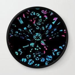 Abstract Spiral's Wall Clock