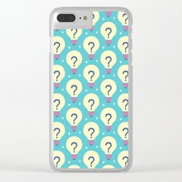 Looking for new ideas Clear iPhone Case