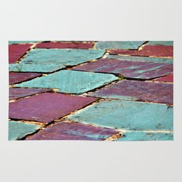 Colorful Stepping Stones Rug