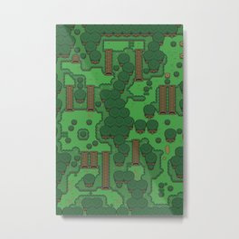 Gamers Have Hearts - The Lost Link Metal Print