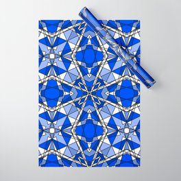 Blue Sapphire Wrapping Paper