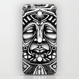 Shamanic trance iPhone Skin