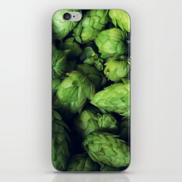 Hops by the bushel. iPhone Skin