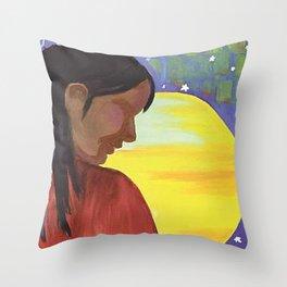 Native Sun Throw Pillow
