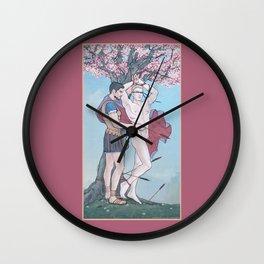 The Liberation of Saint Sebastian Wall Clock