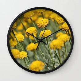 Santolina Grey Wall Clock