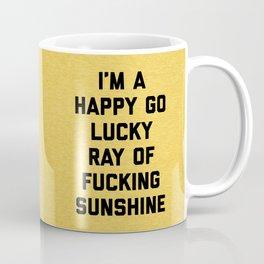 Ray Of Fucking Sunshine Funny Quote Kaffeebecher