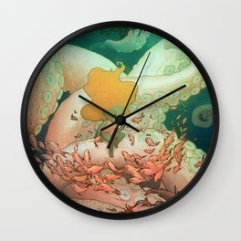 Listen To Me And I'll Tell You A Story Wall Clock