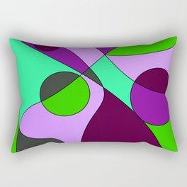 Abstract pattern Cuts Rectangular Pillow