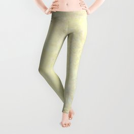 Marble with Okra Threads Leggings