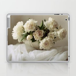 Garden peonies for Justine - wedding bouquet photography Laptop & iPad Skin