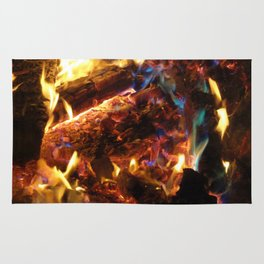Colorful FirE Rug