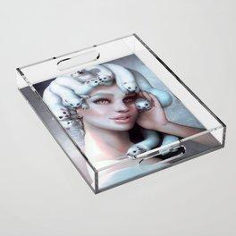 Ferret Medusa Acrylic Tray