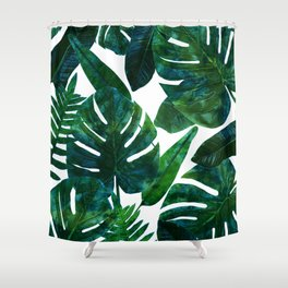 Perceptive Dream || #society6 #tropical #buyart Shower Curtain