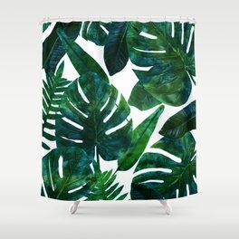 Perceptive Dream || #society6 #tropical #buyart Shower Curtain