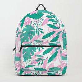 Floral Botanical Illustration Backpack