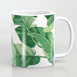 Tropical banana leaves IV Coffee Mug