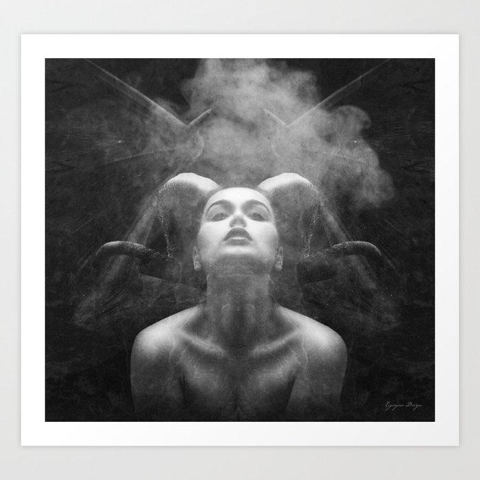 Lust Art Print