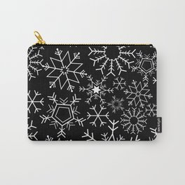 Invert snowflake pattern Carry-All Pouch