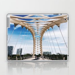 Humber Bay Park Bridge Laptop & iPad Skin