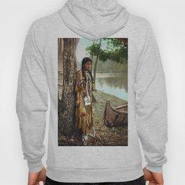 Native American Little Girl Hoody