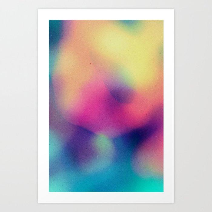 BLUR / supernatural Art Print