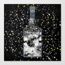 Spaced Rum Canvas Print