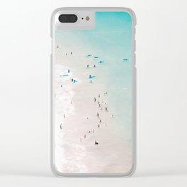 beach - summer love II Clear iPhone Case