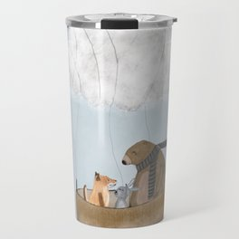 the cloud balloon Travel Mug