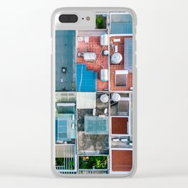 Vietnam sky view Clear iPhone Case