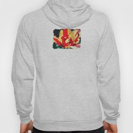 Parrot Tulip Abstract Hoody