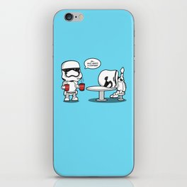 Hard day? At least your base didn't blow up. iPhone Skin