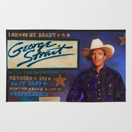 George Strait Rug
