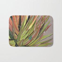 Yucca filifera with beetle Bath Mat