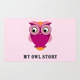My owl story Rug