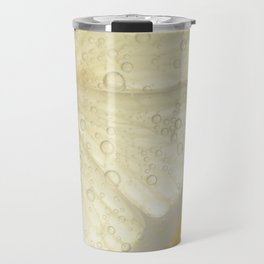 Bubbly Lemon - Lime Green Travel Mug