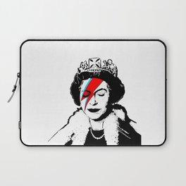 Banksy space queen Laptop Sleeve
