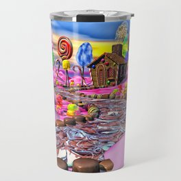 Pink Candyland Travel Mug