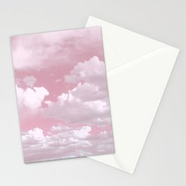 Clouds in a Pink Sky Stationery Cards