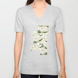 Mississippi in Flowers Unisex V-Neck