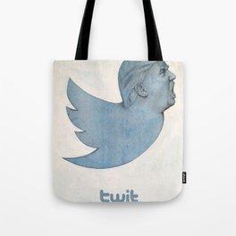 Twit Trump Tote Bag