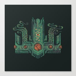 The Crown of Cthulhu Canvas Print