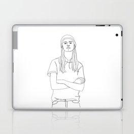 One line fashion illustration - Dani Laptop & iPad Skin