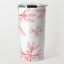 floral pattern Travel Mug