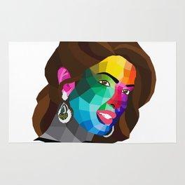 Priyanka Chopra - popart portrait Rug