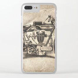 Norton Motorcycles Clear iPhone Case