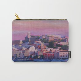 Ibiza Eivissa Old Town and Harbour Pearl of the Mediterranean Carry-All Pouch